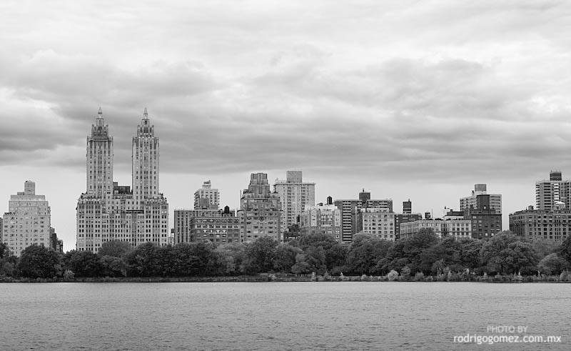 Manhattan Cityscape desde Central Park