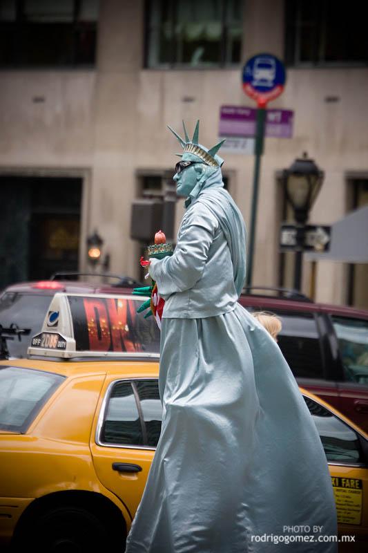 La Estátua de la Libertad