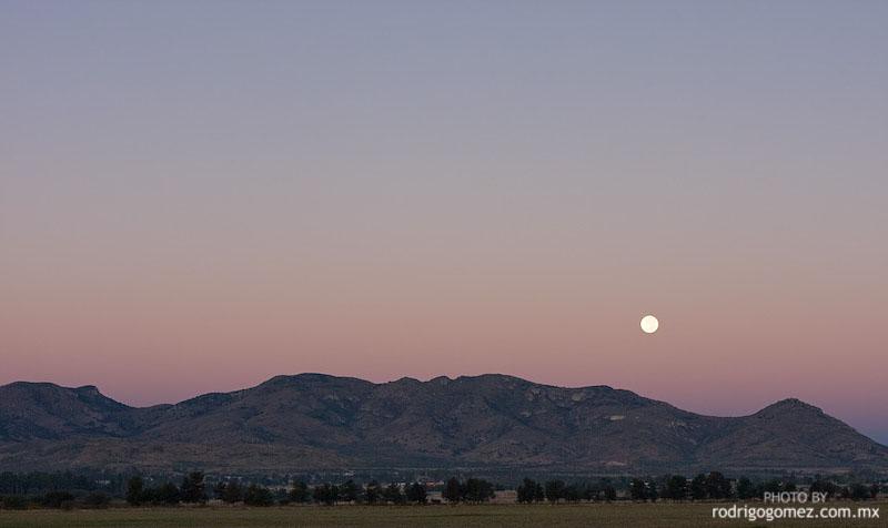 Cerro del Muerto y Luna I