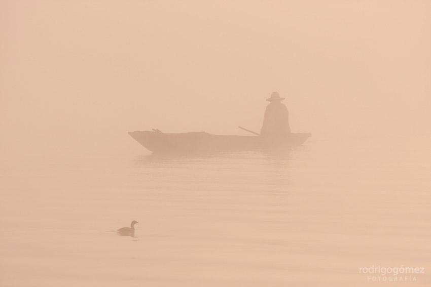 Zirahuén VII - Pescador y Pato