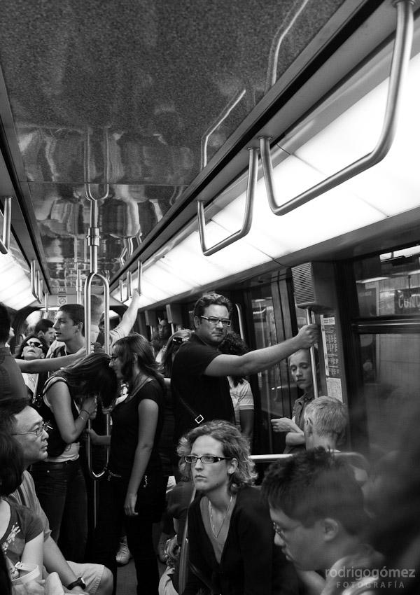 En el Metro, París
