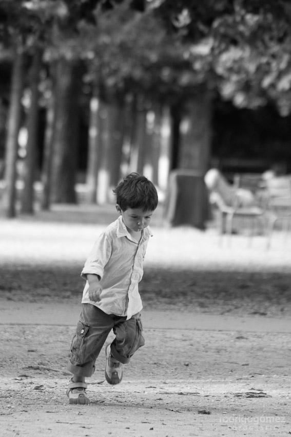 Corriendo - Jardines de Luxemburgo, París