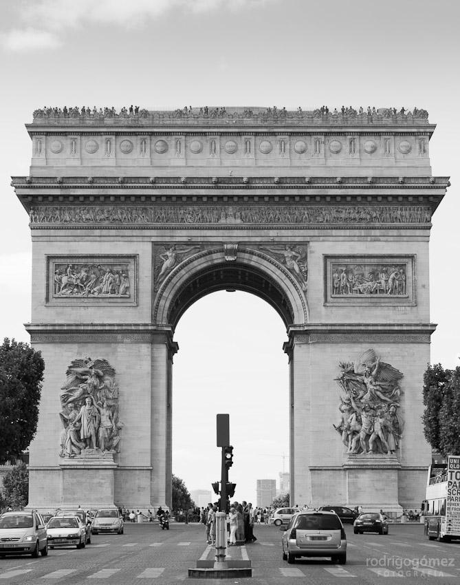 Arco del Triunfo, París II