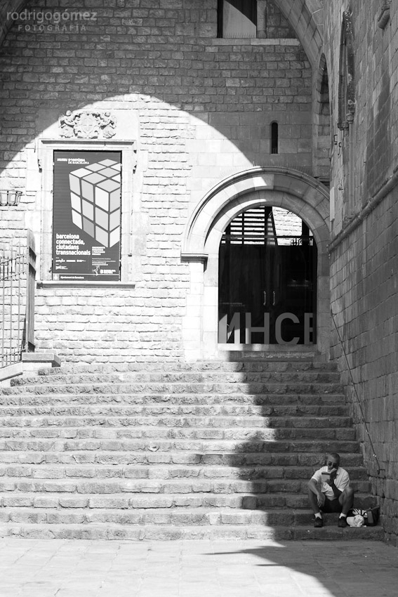 Sombras y libros, Barcelona