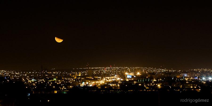 Luna del 25 de Septiembre del 2005