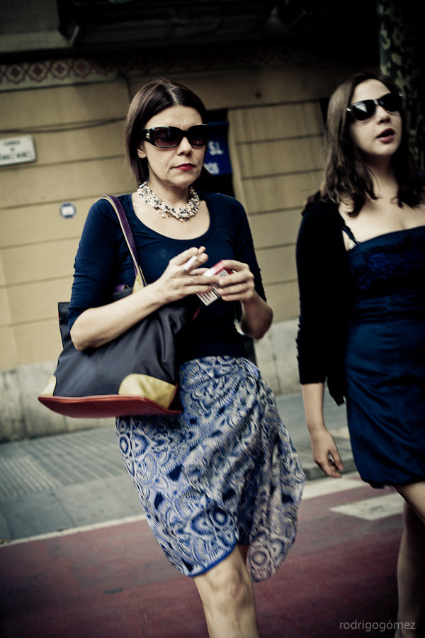 Las señoras de los lentes - Barcelona