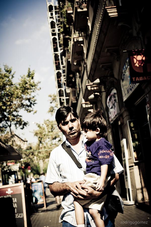 El señor y el niño - Barcelona