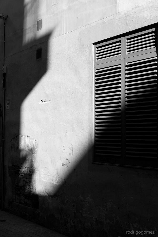 Ventanas y sombras - Barcelona