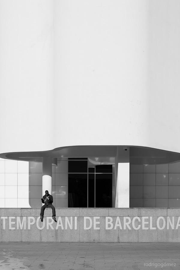 En el MACBA - Barcelona