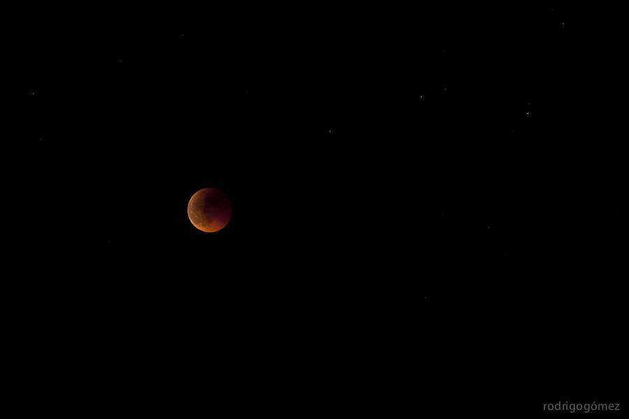 Eclipse de Luna - Junio 2011 - Barcelona