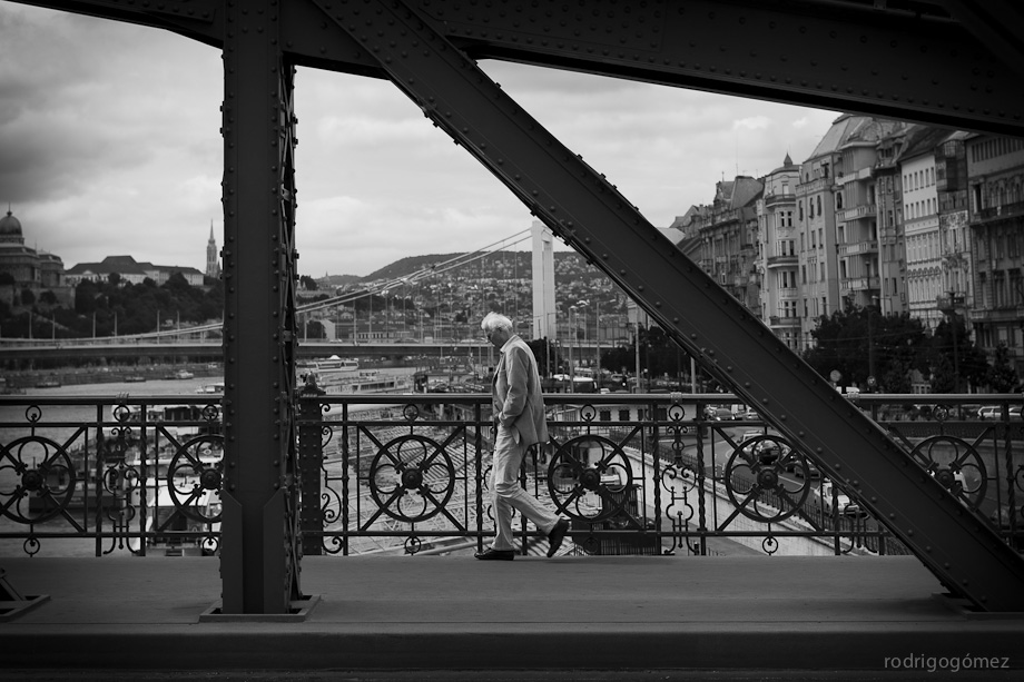 Cruzando el Danubio - Budapest - Hungría