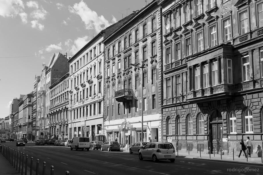 Por las calles de Budapest - Hungría