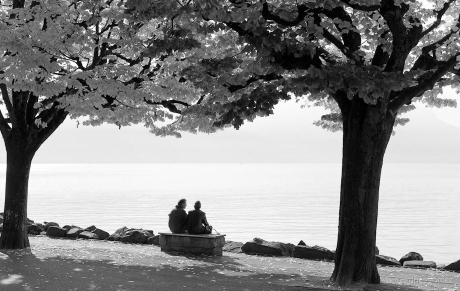 A la orilla del Lago - Montreux, Suiza