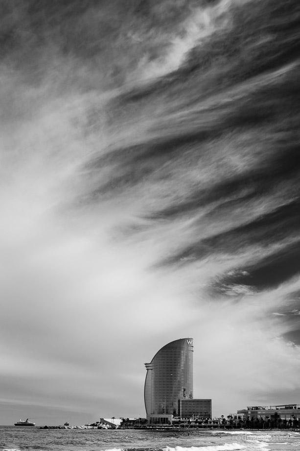 Cielo en Barceloneta I - 29 Abril 2012 - Barcelona