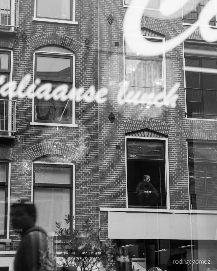 Itaalianse lunch - Amsterdam