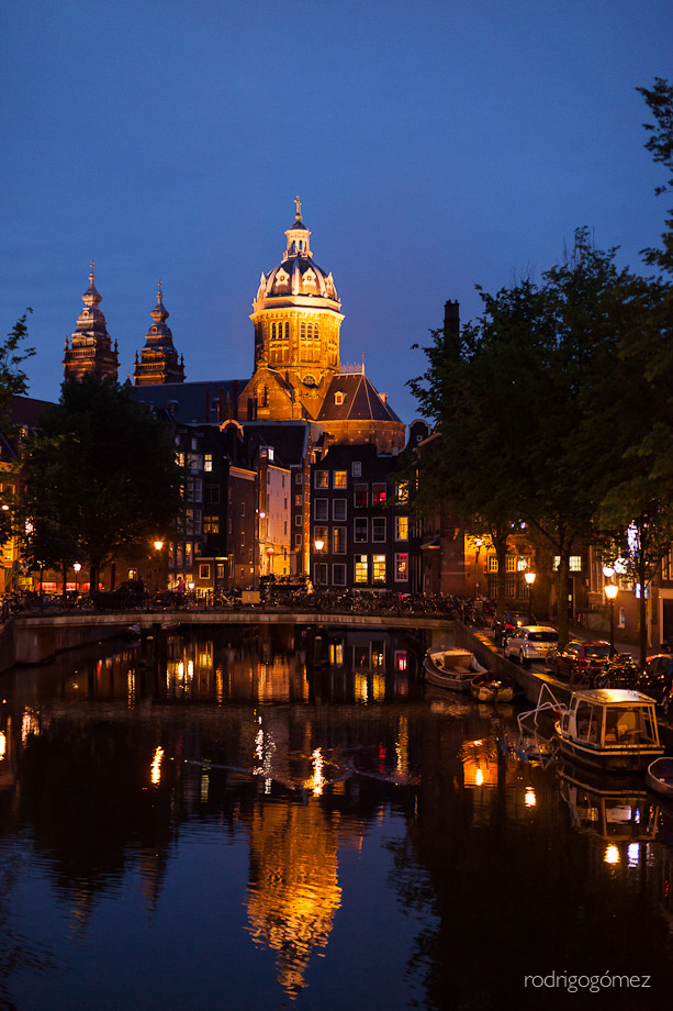 La vieja iglesia - Amsterdam