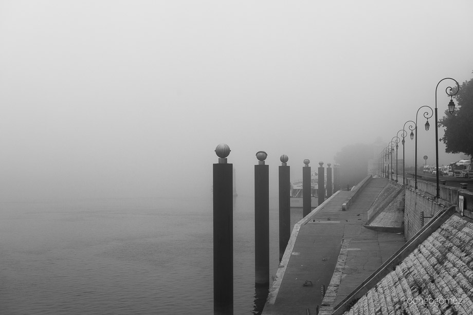 Morning Fog I - Arles, Francia