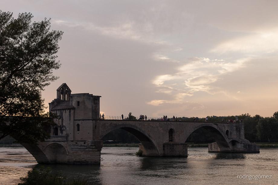 Pont d'Avignon - Avignon, Francia