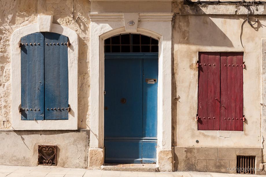 Rojo y Azul - Arles, Francia