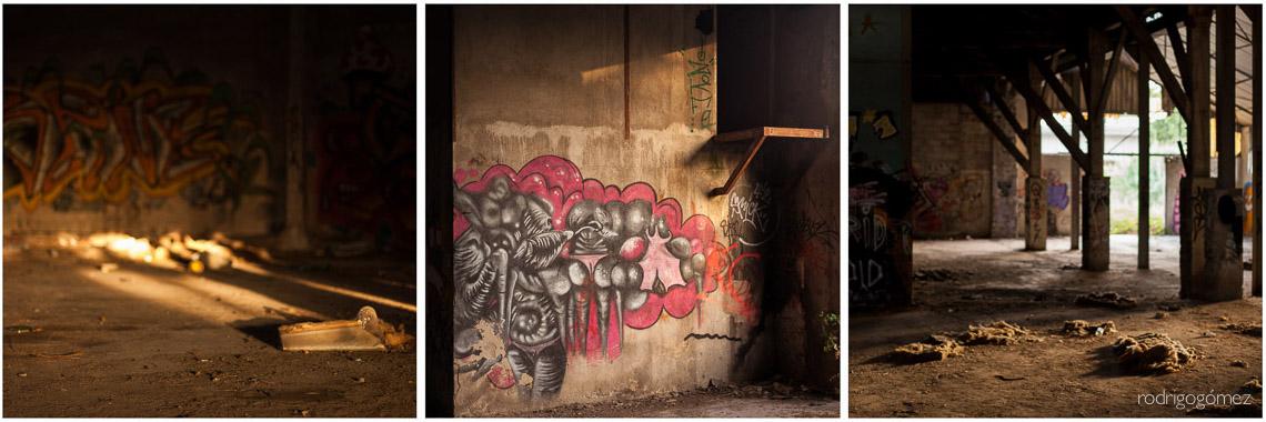 Nave abandonada - Arles, Francia