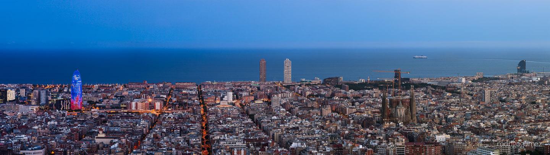 Panorámica Barcelona, Mayo 2012