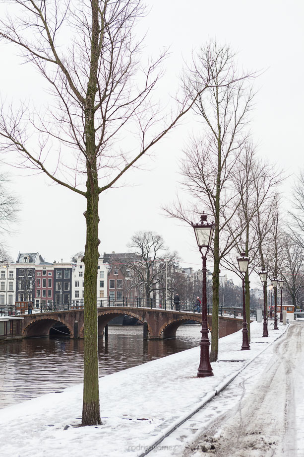 After the snow II - Amsterdam, Holanda