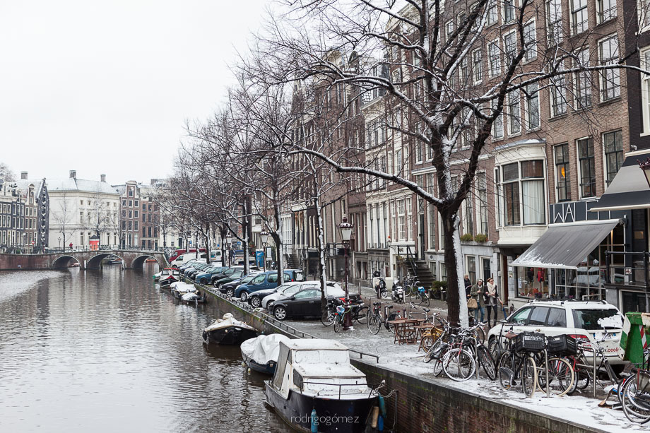 After the snow III - Amsterdam, Holanda